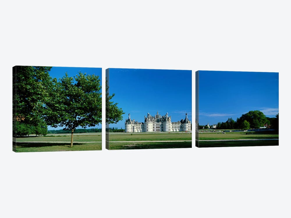 Chateau de Chambord France by Panoramic Images 3-piece Canvas Art Print