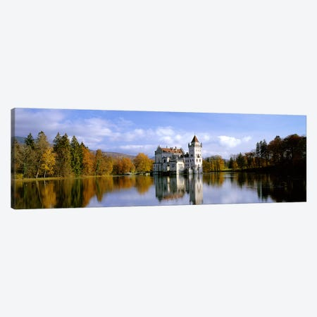 Anif Castle Austria Canvas Print #PIM3990} by Panoramic Images Canvas Wall Art