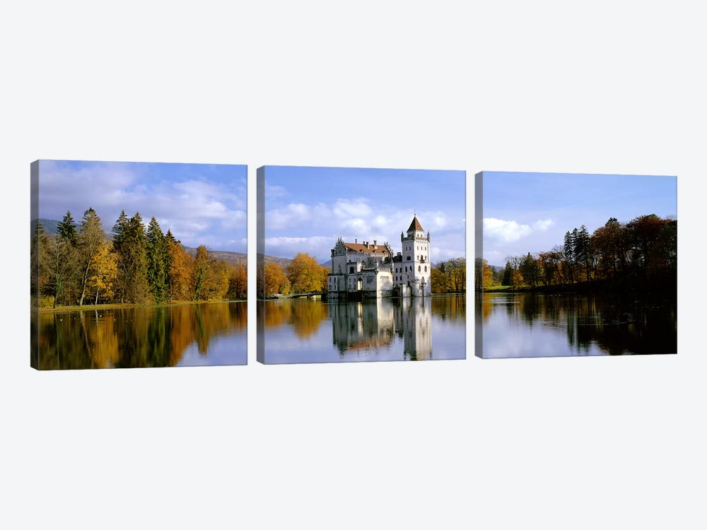 Anif Castle Austria by Panoramic Images 3-piece Art Print