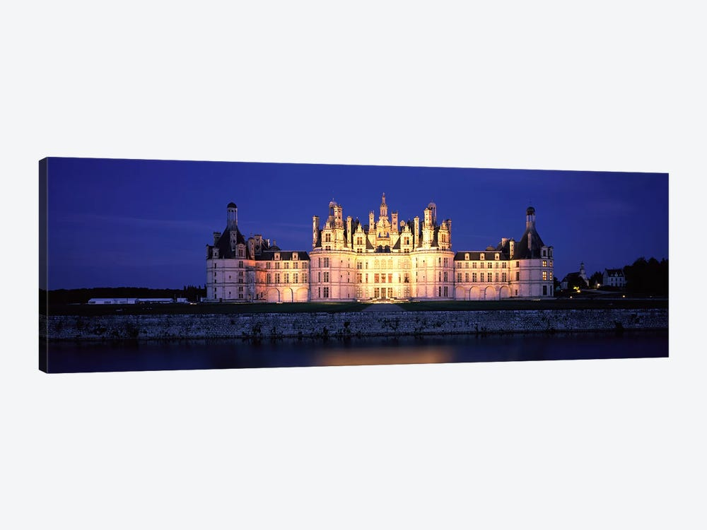 Chateau de Chambord Loire France 1-piece Canvas Wall Art
