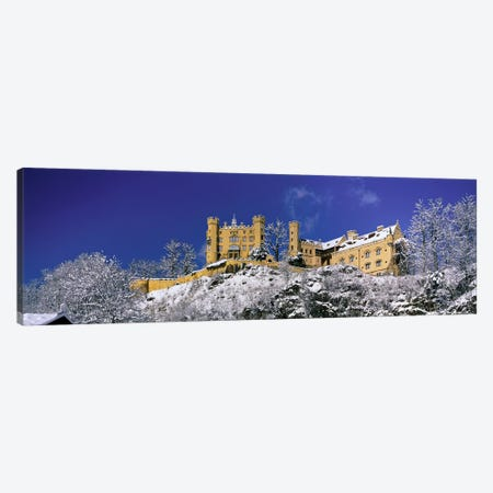 Hohenschwangau Castle (Schloss Hohenschwangau) Schwangau Germany Canvas Print #PIM3992} by Panoramic Images Canvas Wall Art