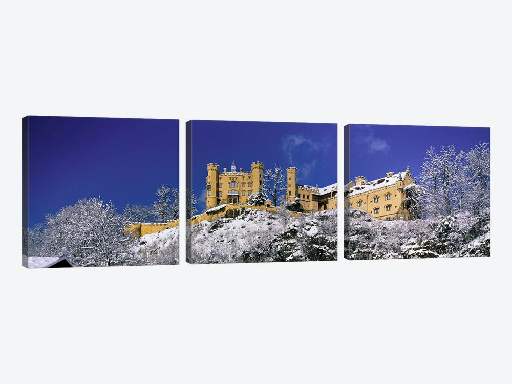 Hohenschwangau Castle (Schloss Hohenschwangau) Schwangau Germany by Panoramic Images 3-piece Canvas Print