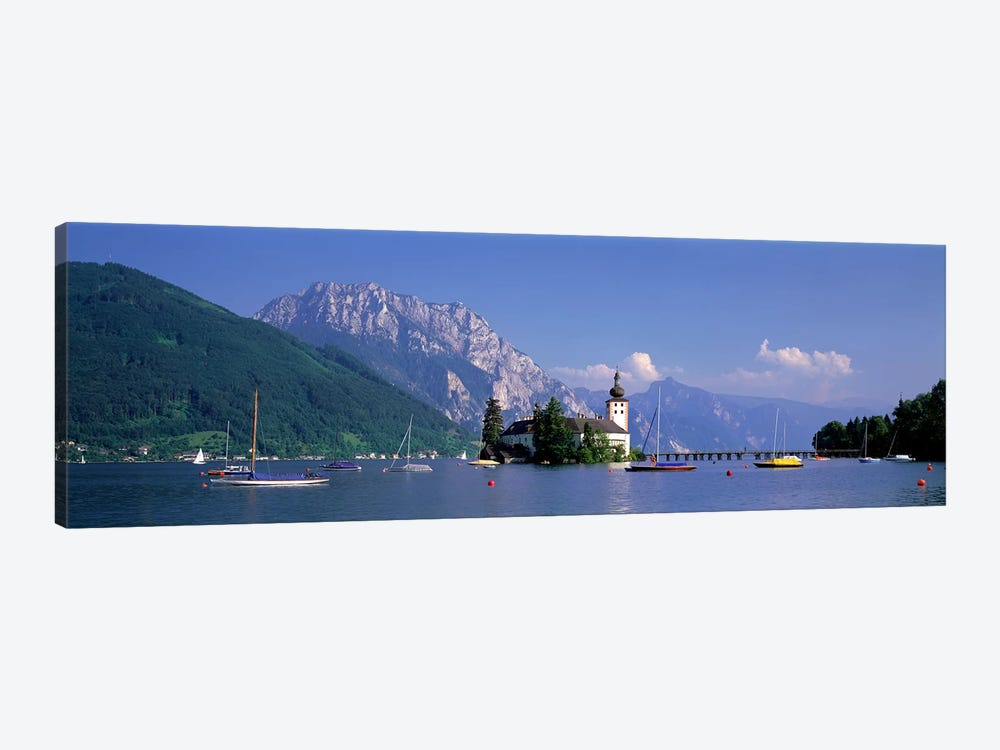 Traunsee Lake Gmunden Austria by Panoramic Images 1-piece Canvas Wall Art