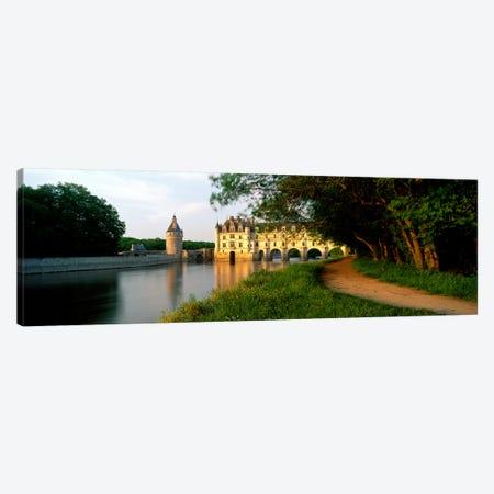 Chateau de Chenonceau, Centre-Val de Loire, France 3-Piece Canvas #PIM3994} by Panoramic Images Canvas Print