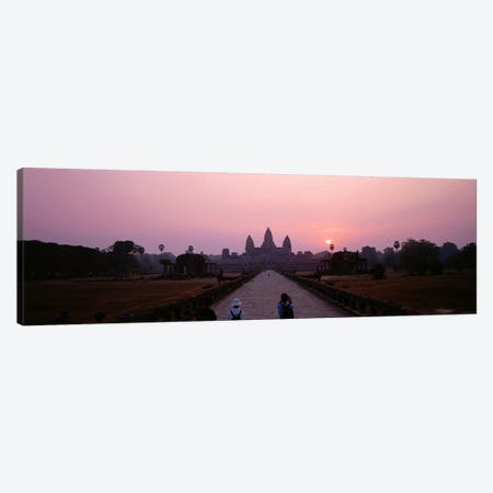 Angkor Wat Cambodia Canvas Print #PIM3996} by Panoramic Images Canvas Art Print