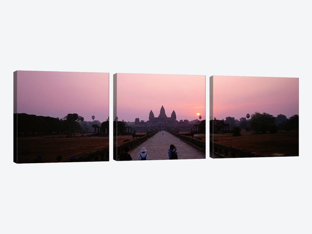 Angkor Wat Cambodia by Panoramic Images 3-piece Art Print