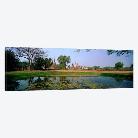 Sukhothai Thailand Canvas Print #PIM3999} by Panoramic Images Canvas Art
