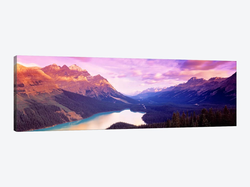 Peyto Lake, Alberta, Canada by Panoramic Images 1-piece Canvas Print