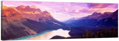 Peyto Lake, Alberta, Canada Canvas Art Print