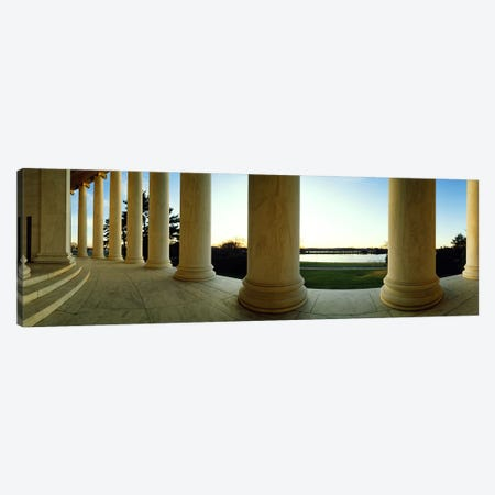 Jefferson Memorial Washington DC Canvas Print #PIM4000} by Panoramic Images Art Print