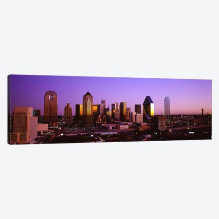 DallasTexas, USA Canvas Print #PIM4001} by Panoramic Images Canvas Print