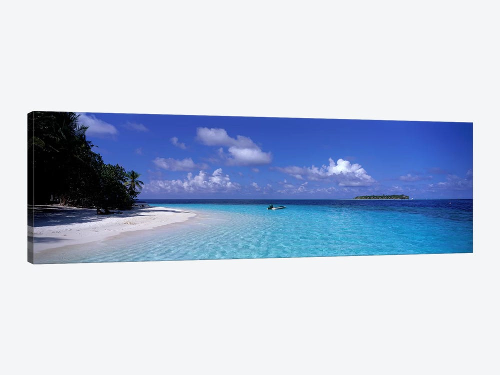 Tropical Beach Ihru Maldives by Panoramic Images 1-piece Canvas Artwork