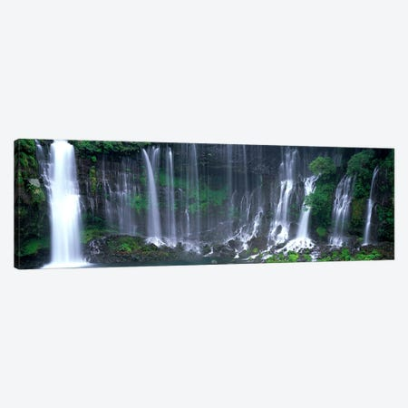 Shiraito Falls, Fujinomiya, Shizuoka, Japan Canvas Print #PIM4006} by Panoramic Images Canvas Artwork