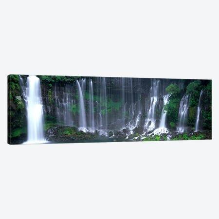 Shiraito Falls, Fujinomiya, Shizuoka, Japan Canvas Print #PIM4006} by Panoramic Images Canvas Artwork