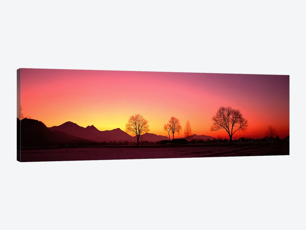 EveningSchwangau, Germany by Panoramic Images 1-piece Art Print
