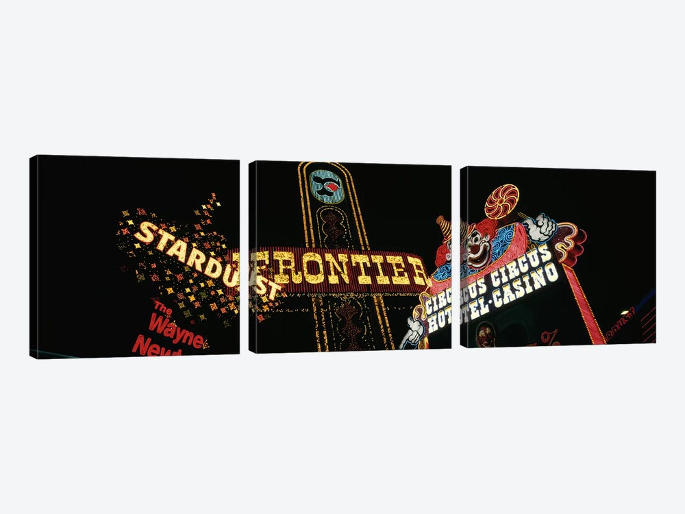 Montage Las Vegas NV by Panoramic Images 3-piece Canvas Art