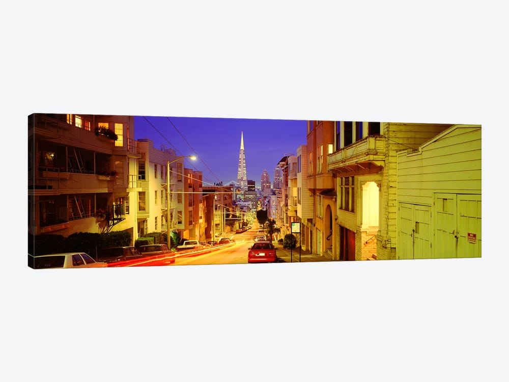 Evening In San FranciscoSan Francisco, California, USA by Panoramic Images 1-piece Canvas Wall Art