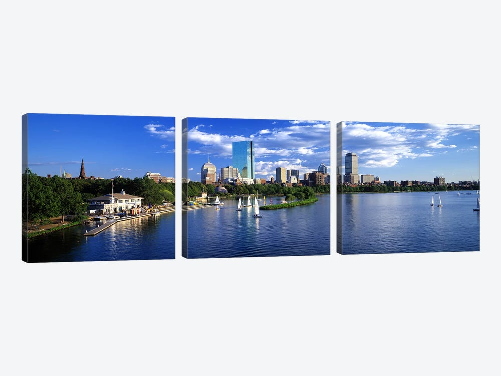 BostonMassachusetts, USA by Panoramic Images 3-piece Canvas Print