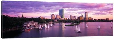 Dusk Boston MA Canvas Print #PIM4019