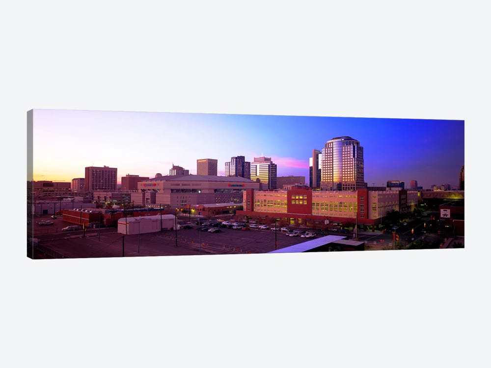 Dusk Phoenix AZ by Panoramic Images 1-piece Art Print