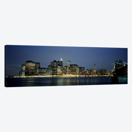 Buildings on The waterfront, NYC, New York City, New York State, USA Canvas Print #PIM4030} by Panoramic Images Canvas Art
