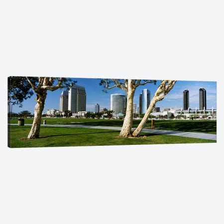 Embarcadero Marina Park, San Diego, California, USA Canvas Print #PIM4034} by Panoramic Images Canvas Print