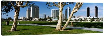 Embarcadero Marina Park, San Diego, California, USA Canvas Print #PIM4034