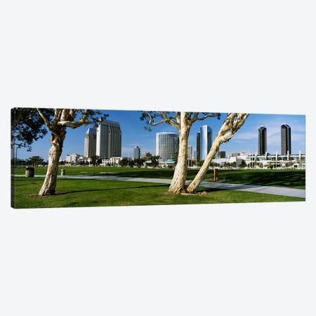Embarcadero Marina Park, San Diego, California, USA Canvas Print #PIM4034} by Panoramic Images Canvas Print