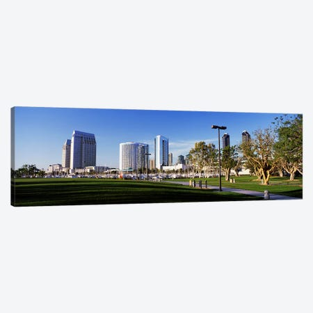 USA, California, San Diego, Marina Park Canvas Print #PIM4036} by Panoramic Images Canvas Print
