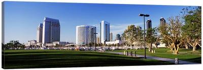 USA, California, San Diego, Marina Park Canvas Print #PIM4036