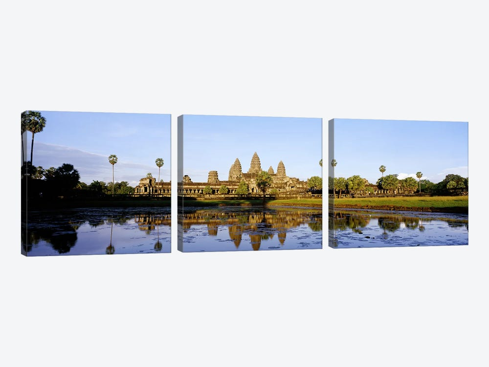 Angkor WatCambodia by Panoramic Images 3-piece Canvas Print