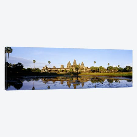 Angkor WatCambodia Canvas Print #PIM4045} by Panoramic Images Canvas Wall Art
