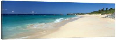 Warwick Long Bay Beach Bermuda Canvas Print #PIM4056
