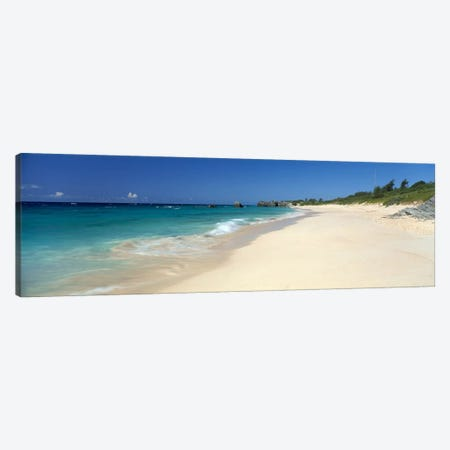 Warwick Long Bay Beach Bermuda Canvas Print #PIM4056} by Panoramic Images Canvas Print