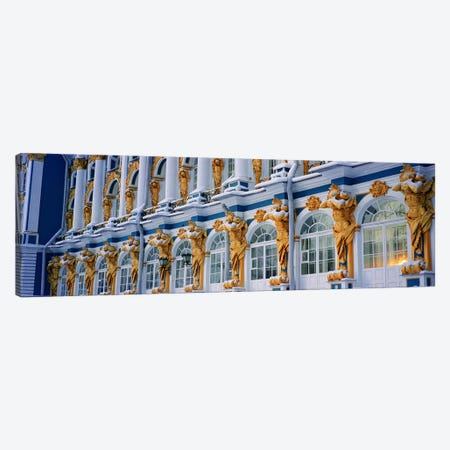 Catherine Palace Pushkin Russia Canvas Print #PIM4058} by Panoramic Images Canvas Artwork