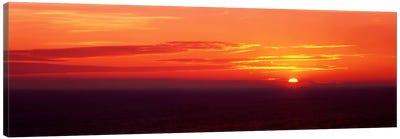 Sunrise Lake Michigan USA Canvas Print #PIM405
