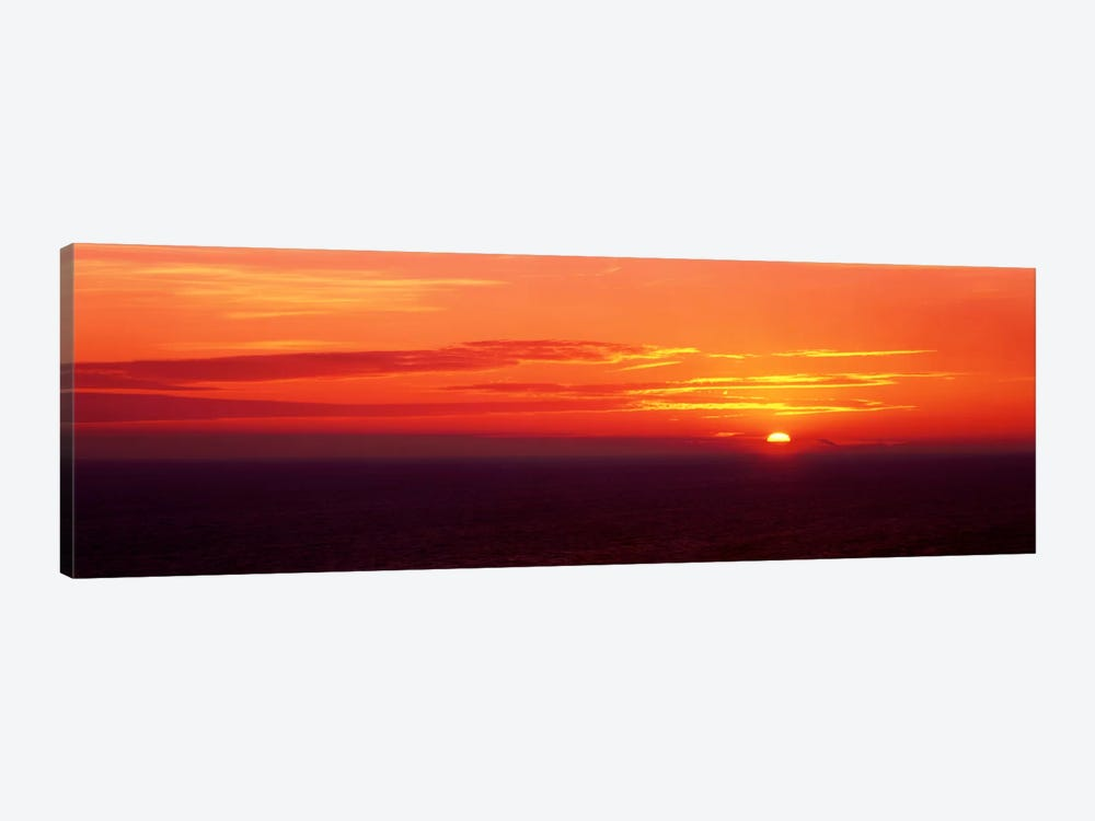 Sunrise Lake Michigan USA by Panoramic Images 1-piece Canvas Wall Art