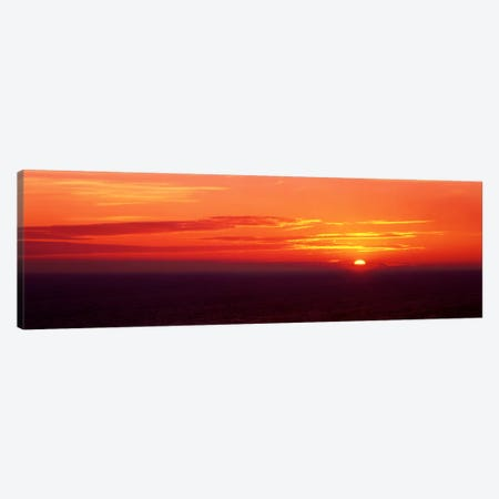 Sunrise Lake Michigan USA Canvas Print #PIM405} by Panoramic Images Art Print