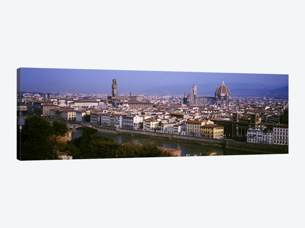 High-Angle View Of The Historic Centre Of Florence, Tuscany, Italy 1-piece Art Print