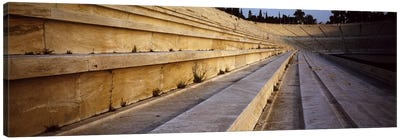 Detail Olympic Stadium Athens Greece Canvas Art Print