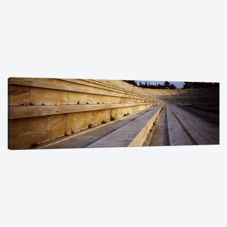 Detail Olympic Stadium Athens Greece Canvas Print #PIM4071} by Panoramic Images Canvas Wall Art