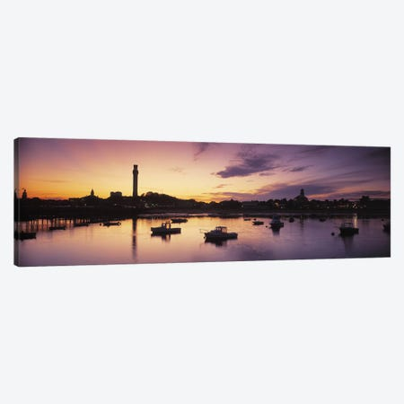 Harbor Cape Cod MA Canvas Print #PIM4077} by Panoramic Images Canvas Art Print