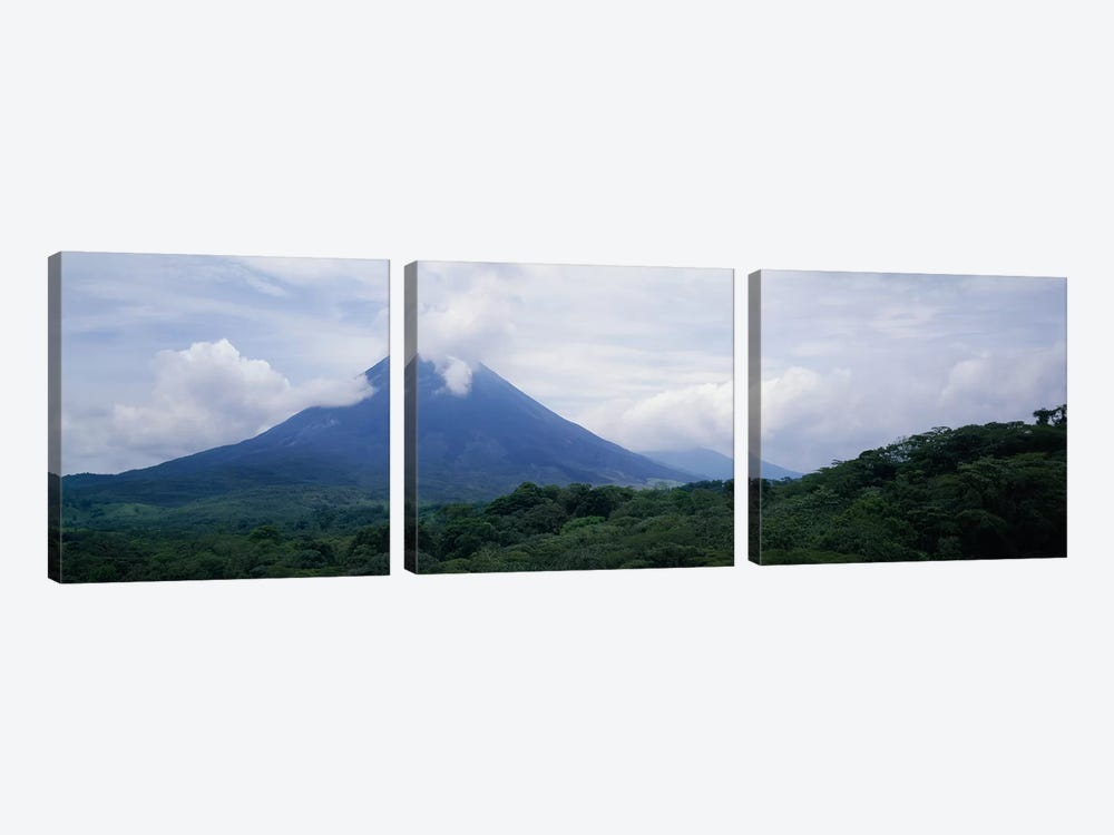 Parque Nacional Volcan Arenal Alajuela Province Costa Rica by Panoramic Images 3-piece Art Print