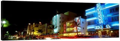 Art Deco Architecture Miami Beach FL Canvas Print #PIM4079