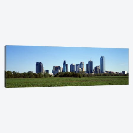 Dallas TX Canvas Print #PIM4080} by Panoramic Images Art Print
