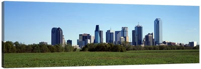 Dallas TX Canvas Art Print