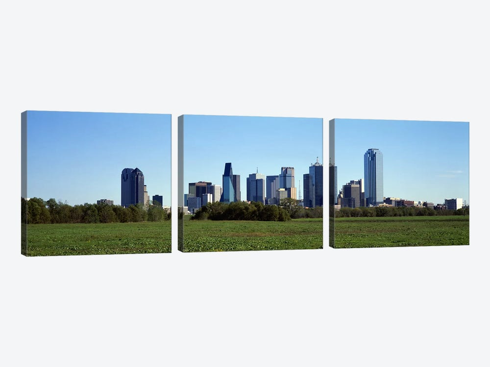 Dallas TX by Panoramic Images 3-piece Canvas Art