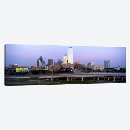 Dallas TX #2 Canvas Print #PIM4081} by Panoramic Images Canvas Art Print