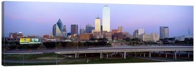 Dallas TX #2 Canvas Print #PIM4081