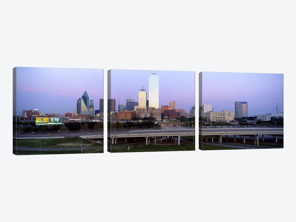Dallas TX #2 by Panoramic Images 3-piece Canvas Print